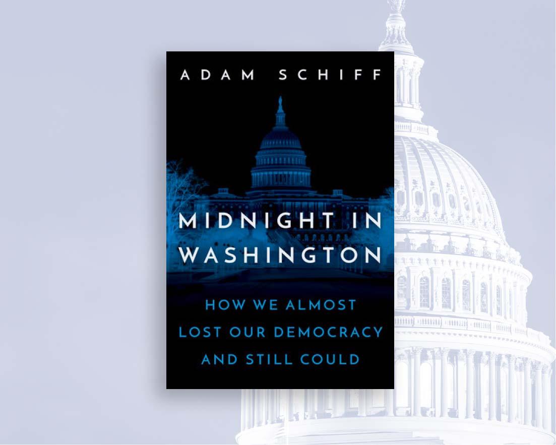 Midnight in Washington. Book by Adam Schiff