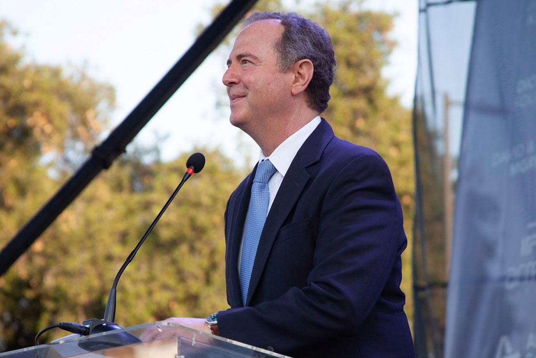 Adam Schiff speaking